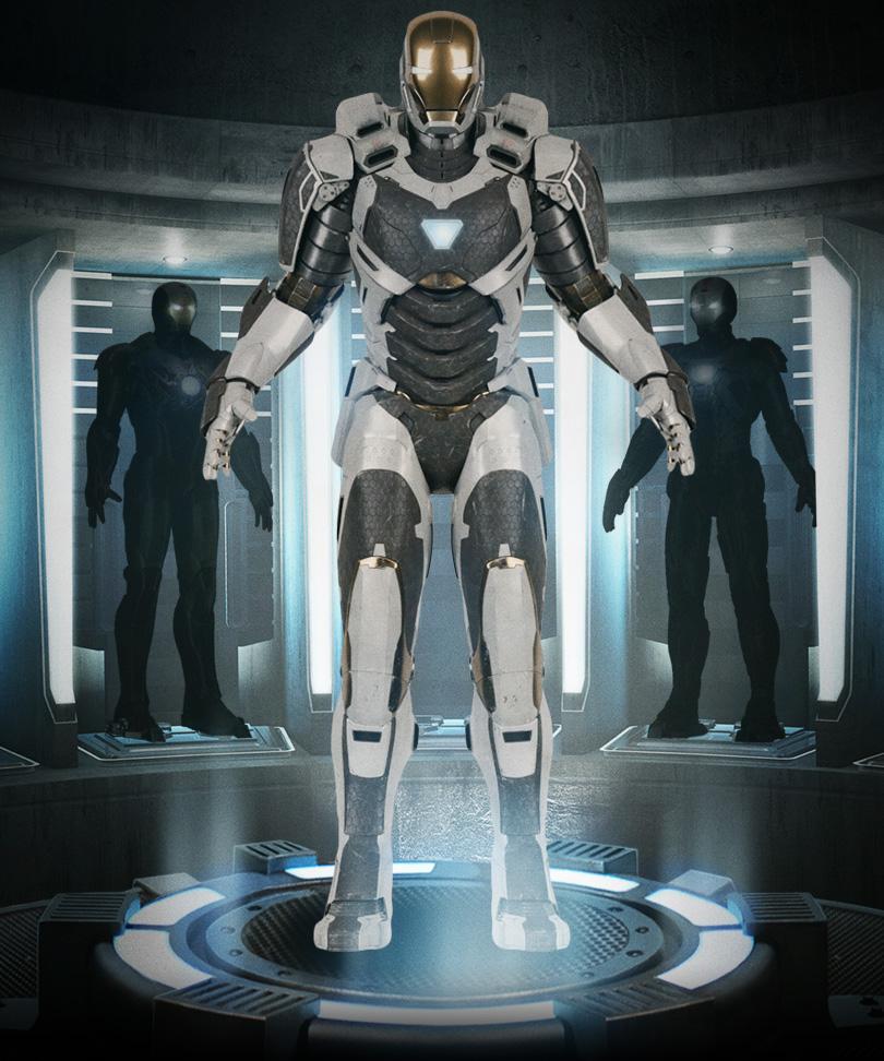 IRON MAN 3 Armor Photo...