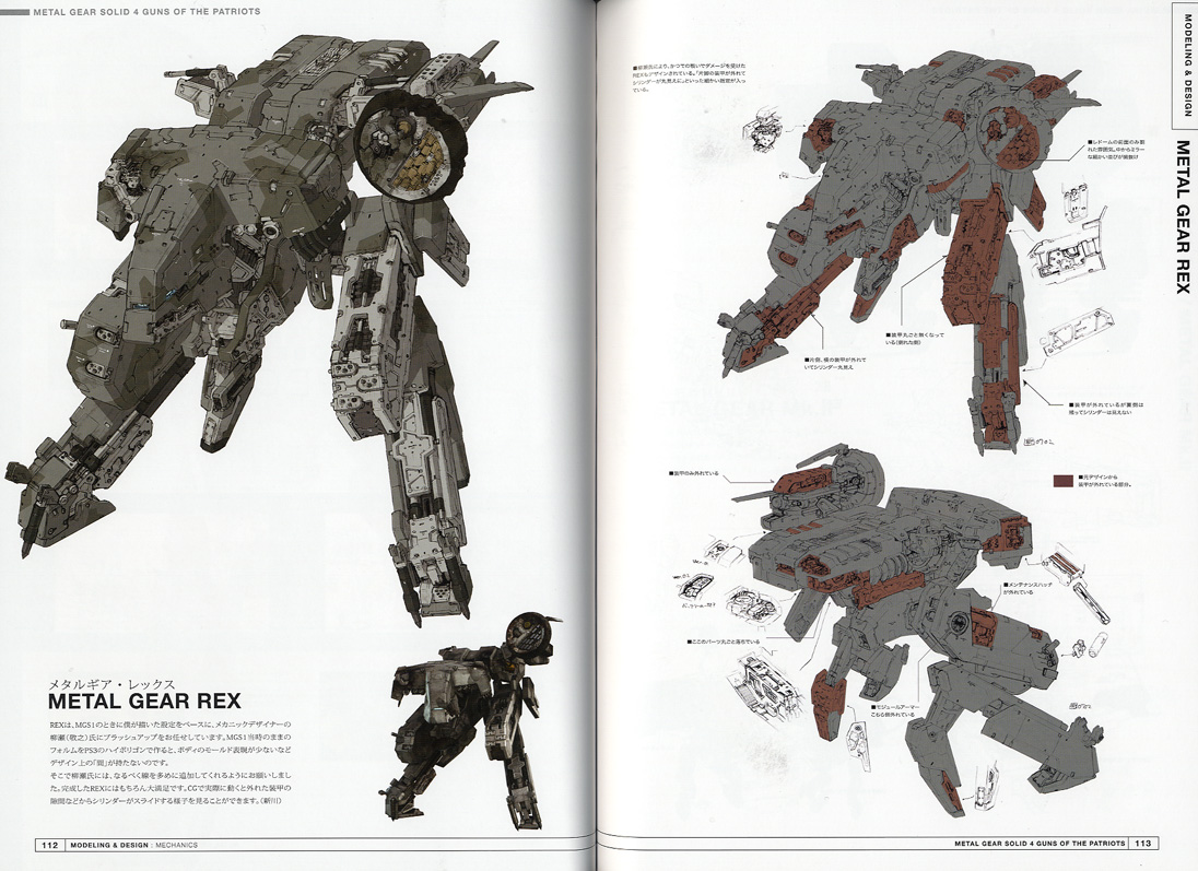 Masterpiece 1 72 Metal Gear Solid Rex Resin Custom Build