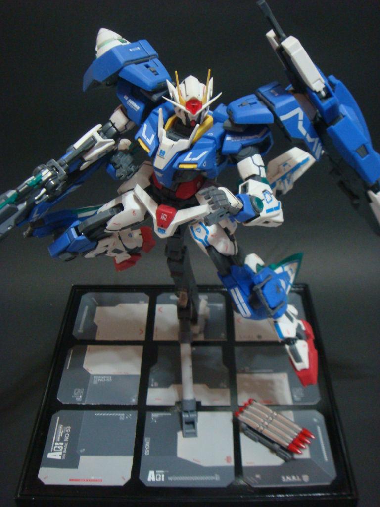 Mg 1 100 00 Gundam Seven Sword G Modeled By Gundamverncd