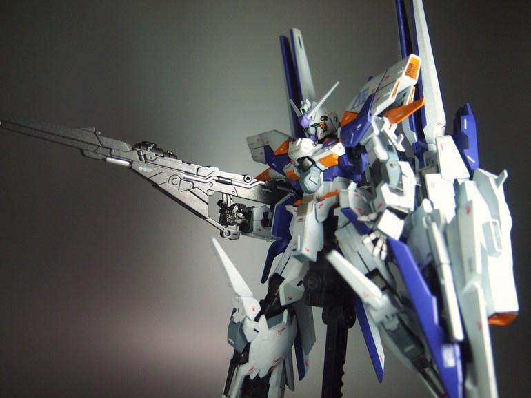 1/144 Gundam Delta Kai: Modeled By Ks19870206. Photoreview
