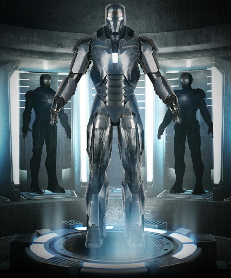 Iron Man 3 Armor Suits Mark 17 IRON MAN 3 Armor Photo...
