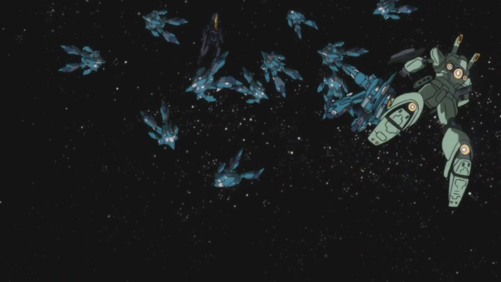 Mobile Suit Gundam Unicorn Episode 6: Two Worlds, Two Tomorrows. No.20 ...