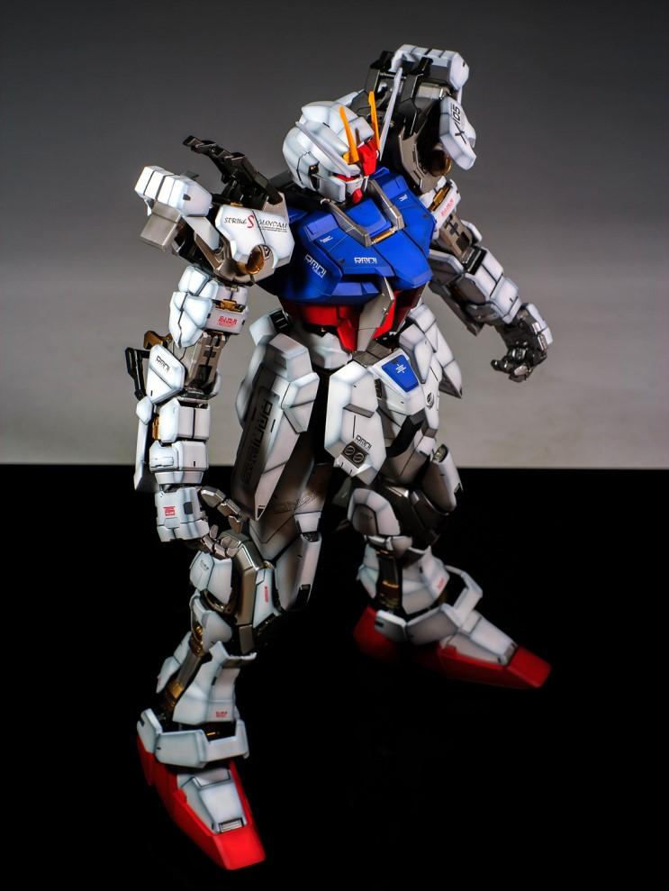 Pg 1 60 Aile Strike Gundam Skygrasper Amazing Paint Job