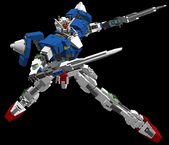 Lego Gn 0000 00 Gundam And Variants No18 Big Size Digital Images