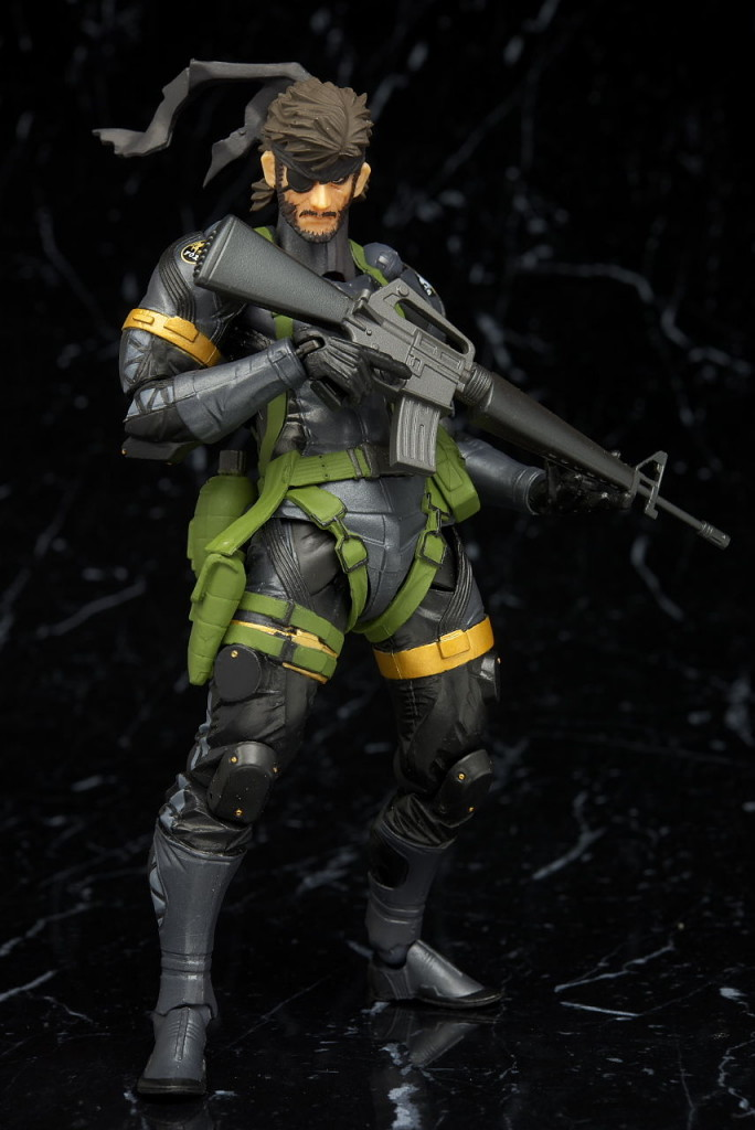 Revoltech Yamaguchi Series No.131 Metal Gear Solid: Peace Walker. SNAKE [Metal Gear 25th Anniversary] : Full Photoreview No.34 Wallpaper Size Images