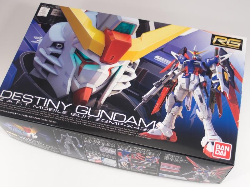 Rg 1 144 Zgmf X42s Destiny Gundam Runners Gunjap