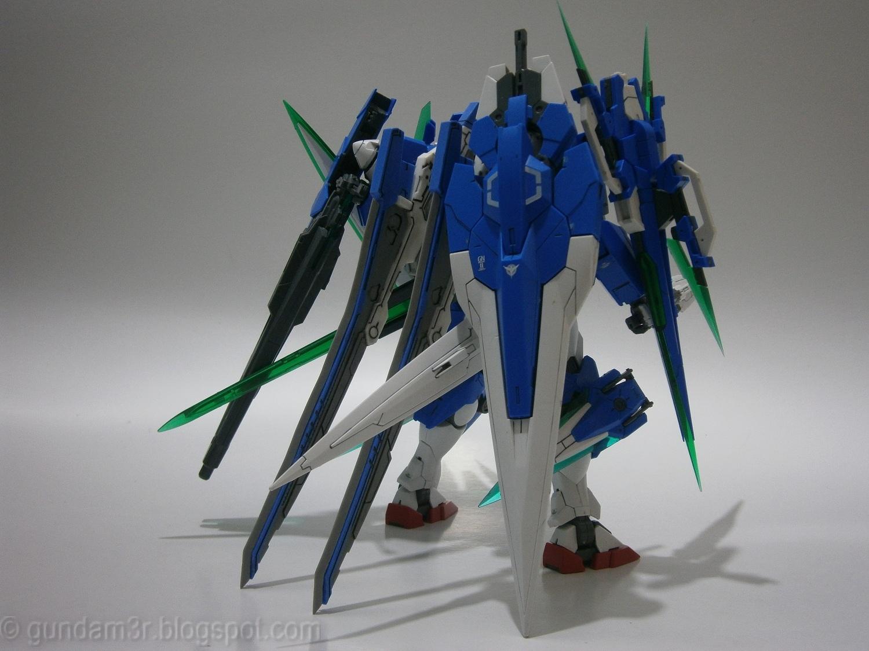 mg 1100 gundam 00 quanta xsaber first custom build by