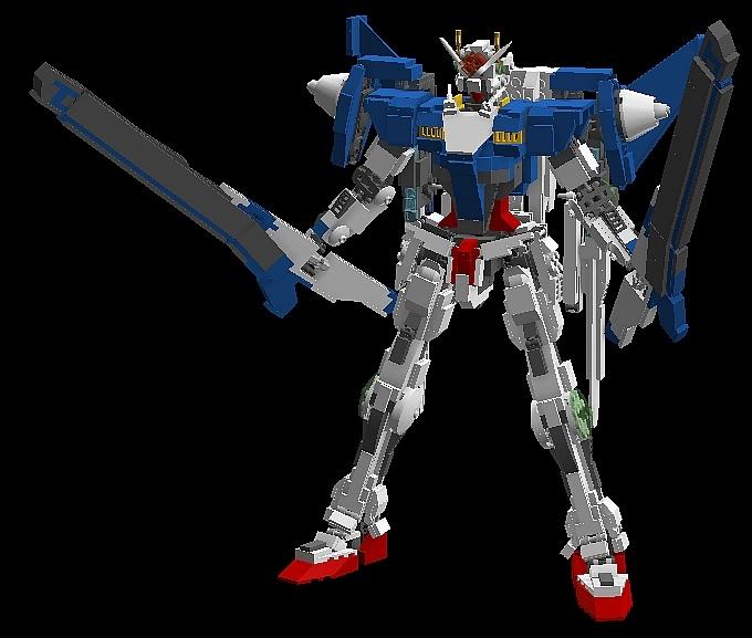 Lego Gn 0000 00 Gundam And Variants No18 Big Size Digital Images