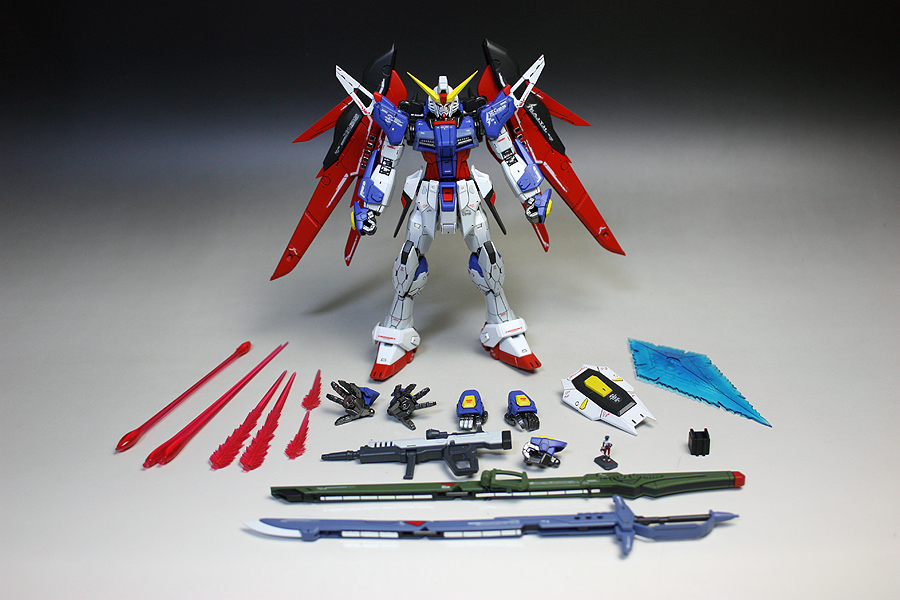 Images: zgmfxg. RG 1/144 ZGMF-X42S Destiny Gundam ...
