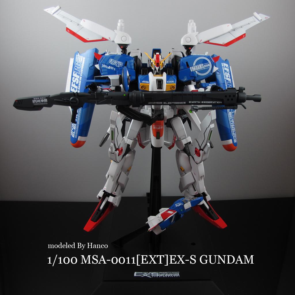 1 100 Msa 0011 Ext Ex S Gundam Modeled By Hanco Photoreview Wallpaper Size Images Gunjap