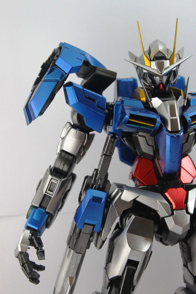 1 60 Pg Gundam 00 Raiser Metallic Painted Build Modeled By Rayhan Khayr Hamad Philippines