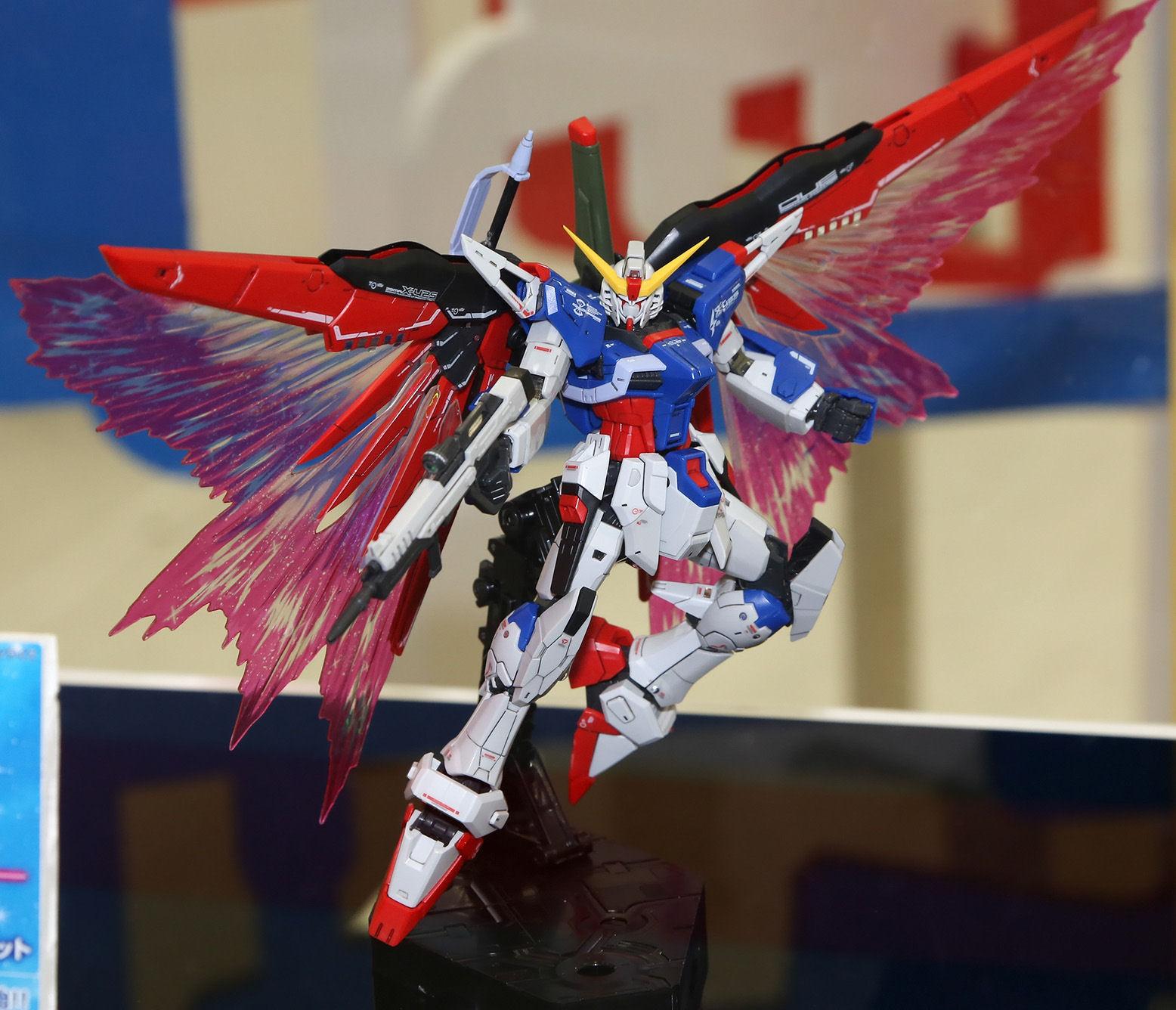 "[Premium Bandai] Expansion Effect Unit ""Wings of Light"" 光の翼 x RG 1/144 Destiny Gundam RG 1/144 デスティニーガンダム用 拡張エフェクトユニット""光の翼"""