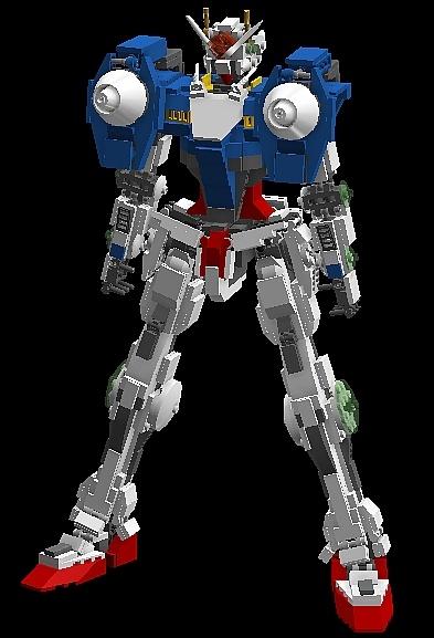 Lego Gn 0000 00 Gundam And Variants No 18 Big Size Digital Images English Info Download Building Instructions Lego Digital Designer Gunjap