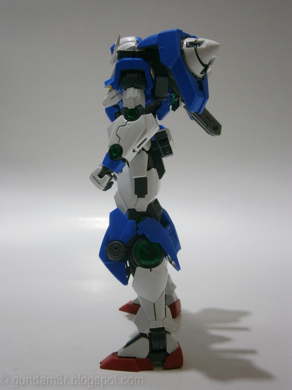 Mg 1 100 Gundam 00 Quanta X Saber First Custom Build By