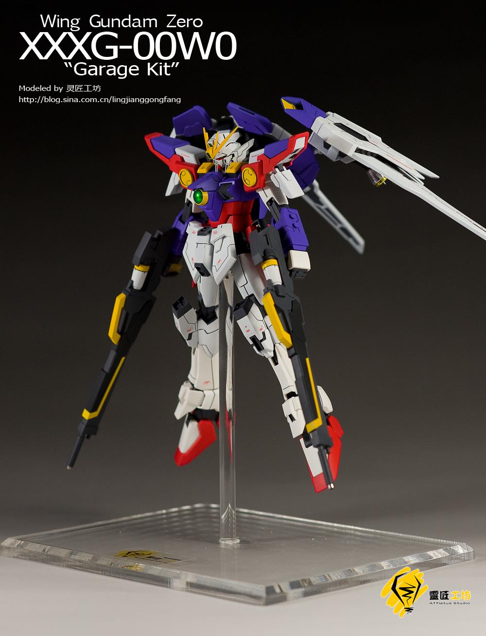 garage Kit] Wing Gundam Zero: Photoreview Wallpaper Size