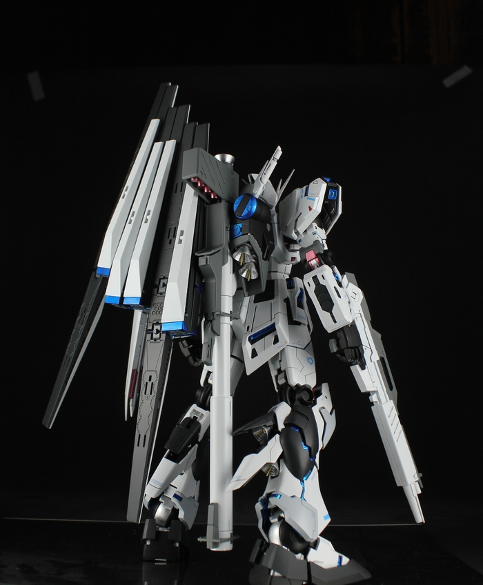 "Latest Kouichi Masterpiece: Prototype Hi-Nu Gundam Ver.Ka ""Destroyer ..."