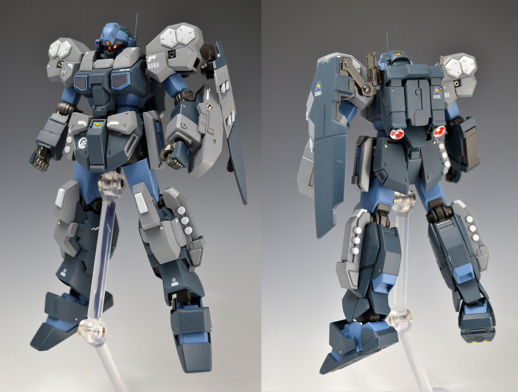 Hguc 1 144 Jesta Cannon Painted Build W Led Photoreview