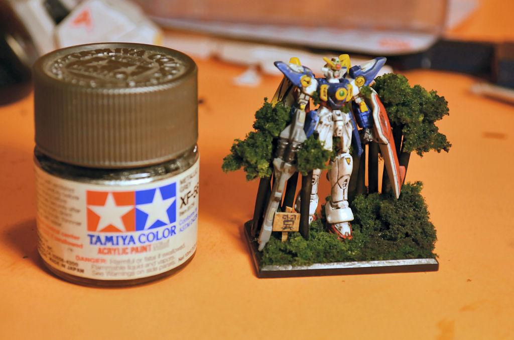 Gundam Diorama Tutorial 1/400 Gundam Wing Diorama