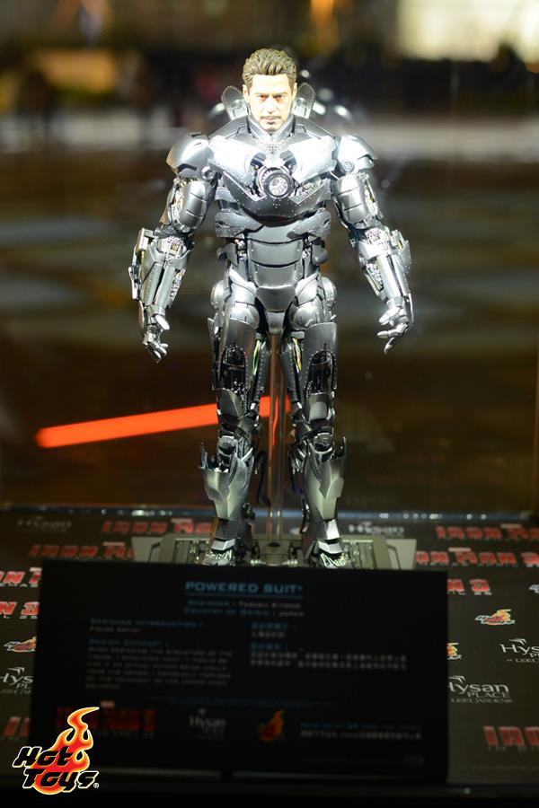 Hot Toys Showcase 2013 Hysan Place Hong Kong  Iron Man 3