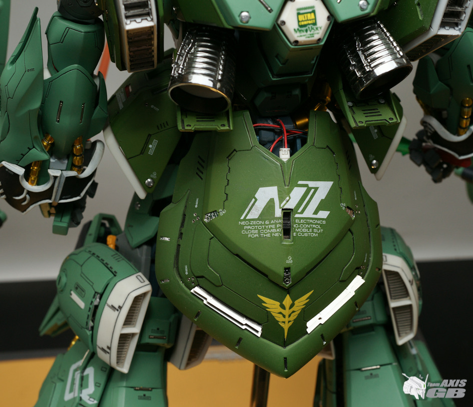 Masterpiece [G-System] 1/72 NZ-666 Kshatriya full LEDs: Amazing Full