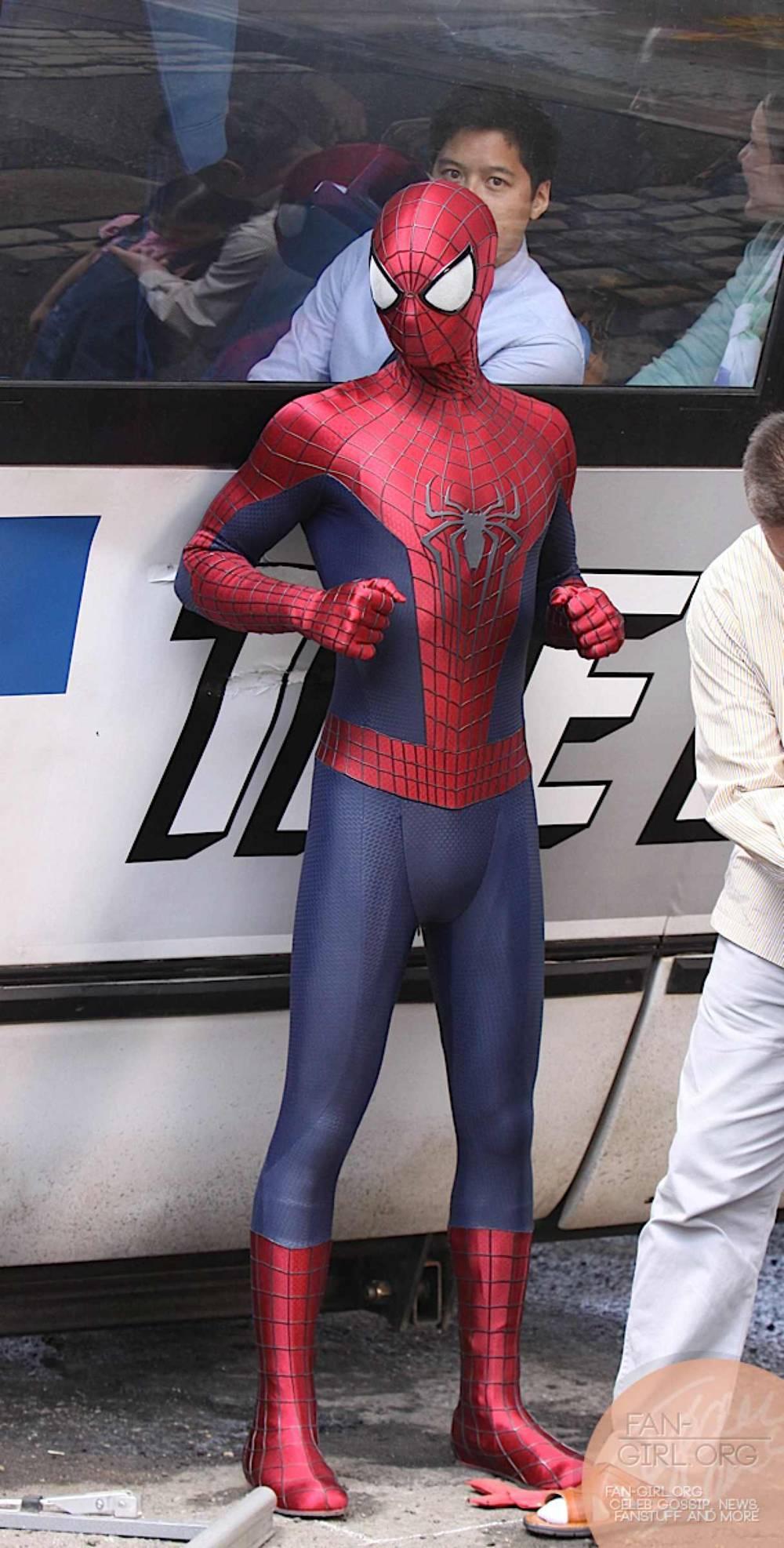 Jared Krichevsky: Amazing Spider Man 2 |The Amazing Spider Man 2 Rhino Suit