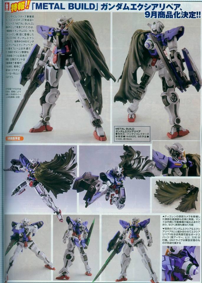 Gundam Exia Repair 3 Metal Build Metal Build Gundam Exi...