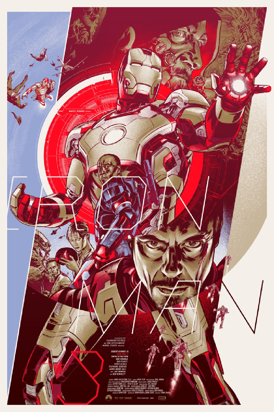 Rare Iron Man 3 posters! Info & Wallpaper Size Images ...