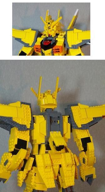 Lego Orb 01 Akatsuki Gundam Oowashi Shiranui Full
