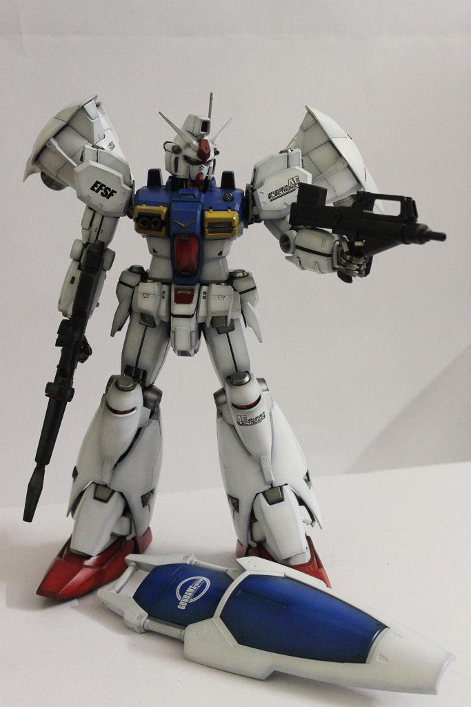 Pg 1 60 Gp01 Fb Gundam Modeled By Rayhan Khayr E Hamad