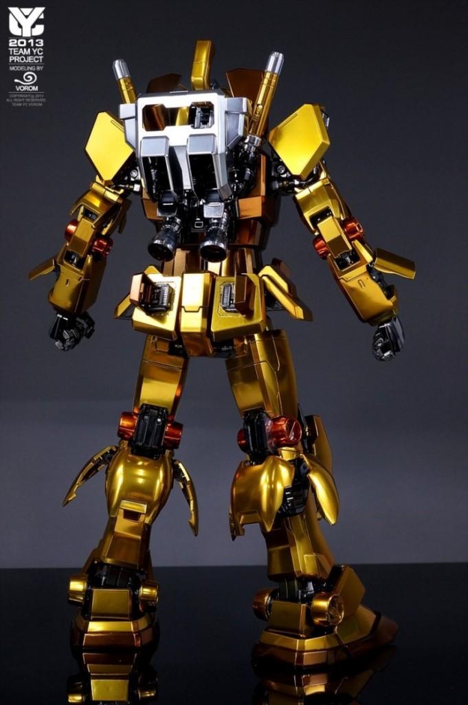 Pg 1 60 Rx 78 2 Gundam Ver Gold Modeled By Vorom Team Yc