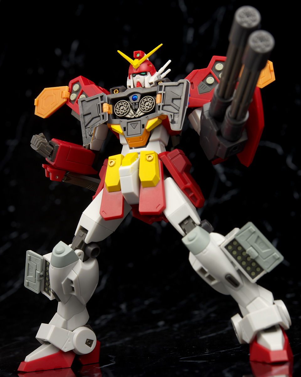 Robot Damashii (Side MS) Gundam HeavyArms Kai: Full ...