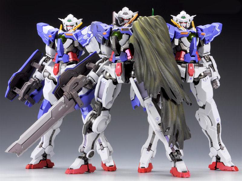 Gundam Exia Repair 3 Metal Build METAL BUILD