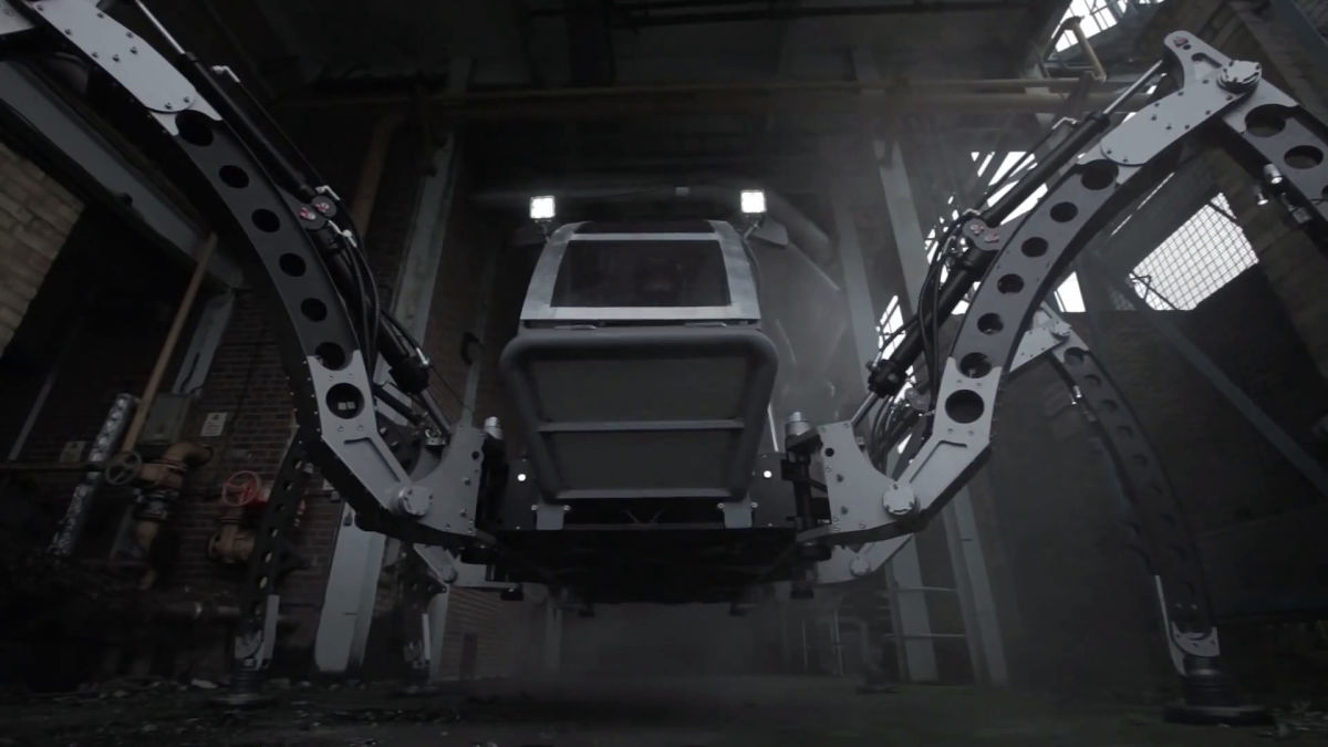 mantis: the biggest, all-terrain operational hexapod robot in the
