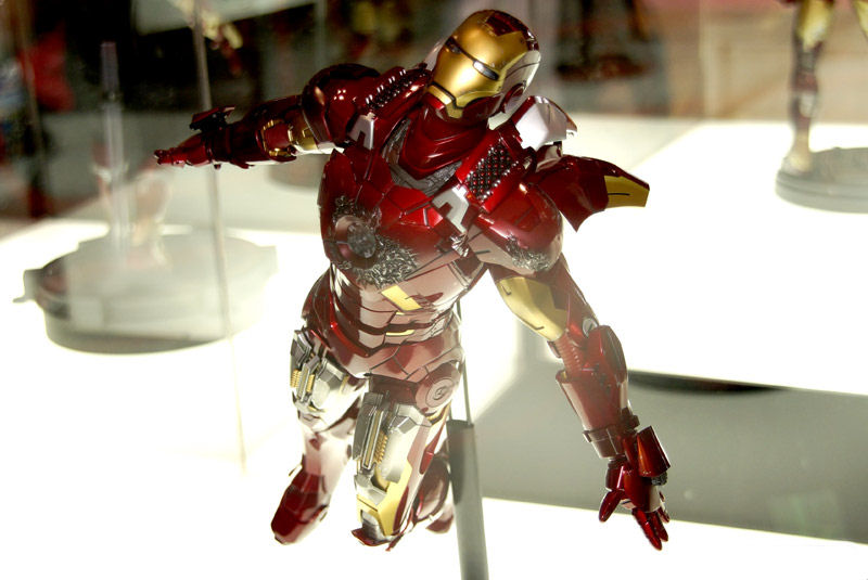 hot toys 16 iron man mark 42 diecast iron man mark