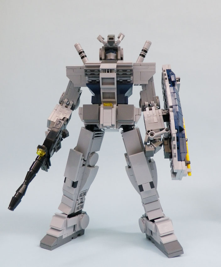 Lego Block G3 Gundam Amp Friends Modeled By ギムレット