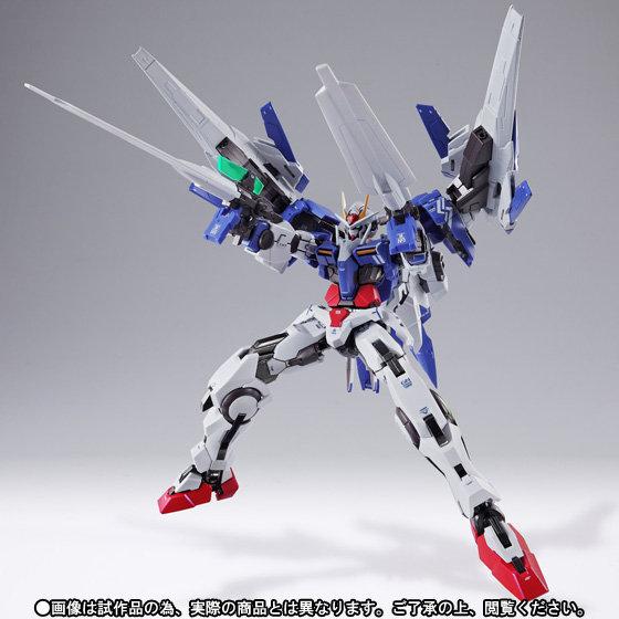 Premium Bandai Metal Build Gundam 00 Raiser Ver Kanetake Ebikawa New Marking Ver Update New