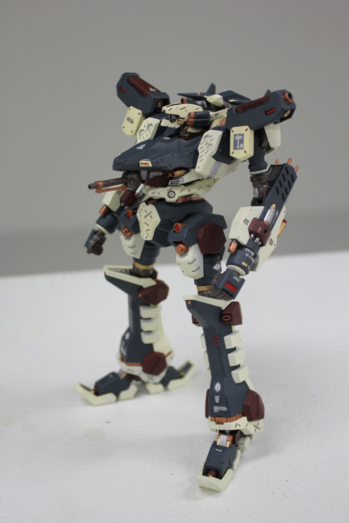 [Armored Core] Crest Assault Type: Modeled by Paranoid. Photoreview Wallpaper Size Images, Info