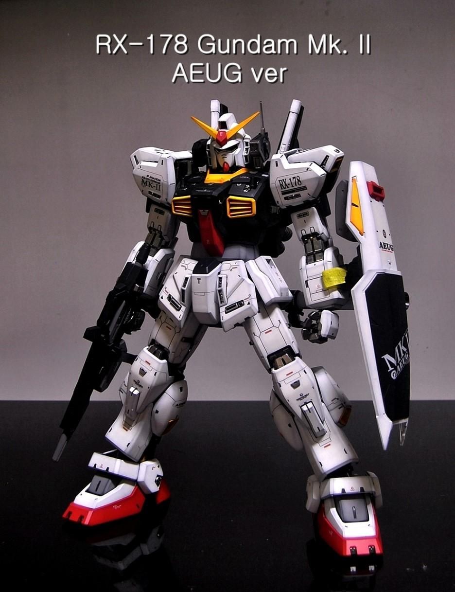Pg 1 60 Rx 178 Gundam Mk Ii Aeug Ver Full Photoreview