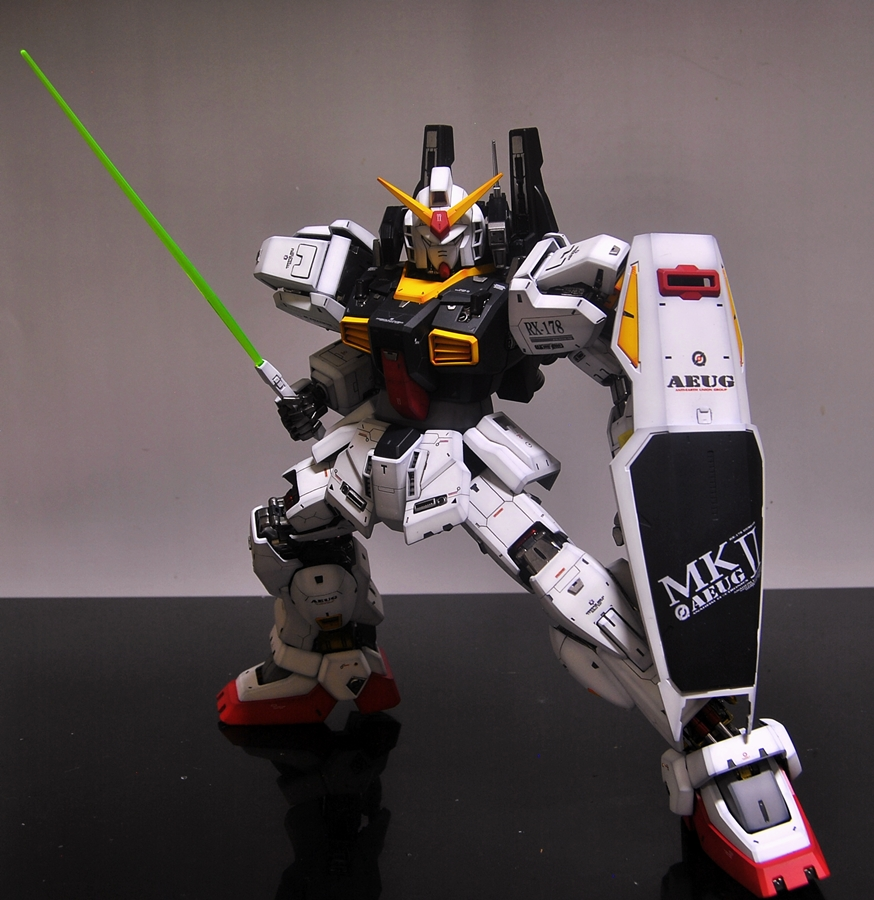 Pg 1 60 Rx 178 Gundam Mk Ii Aeug Ver Full Photoreview Latest Work By Soju2562 No 33 Big Or