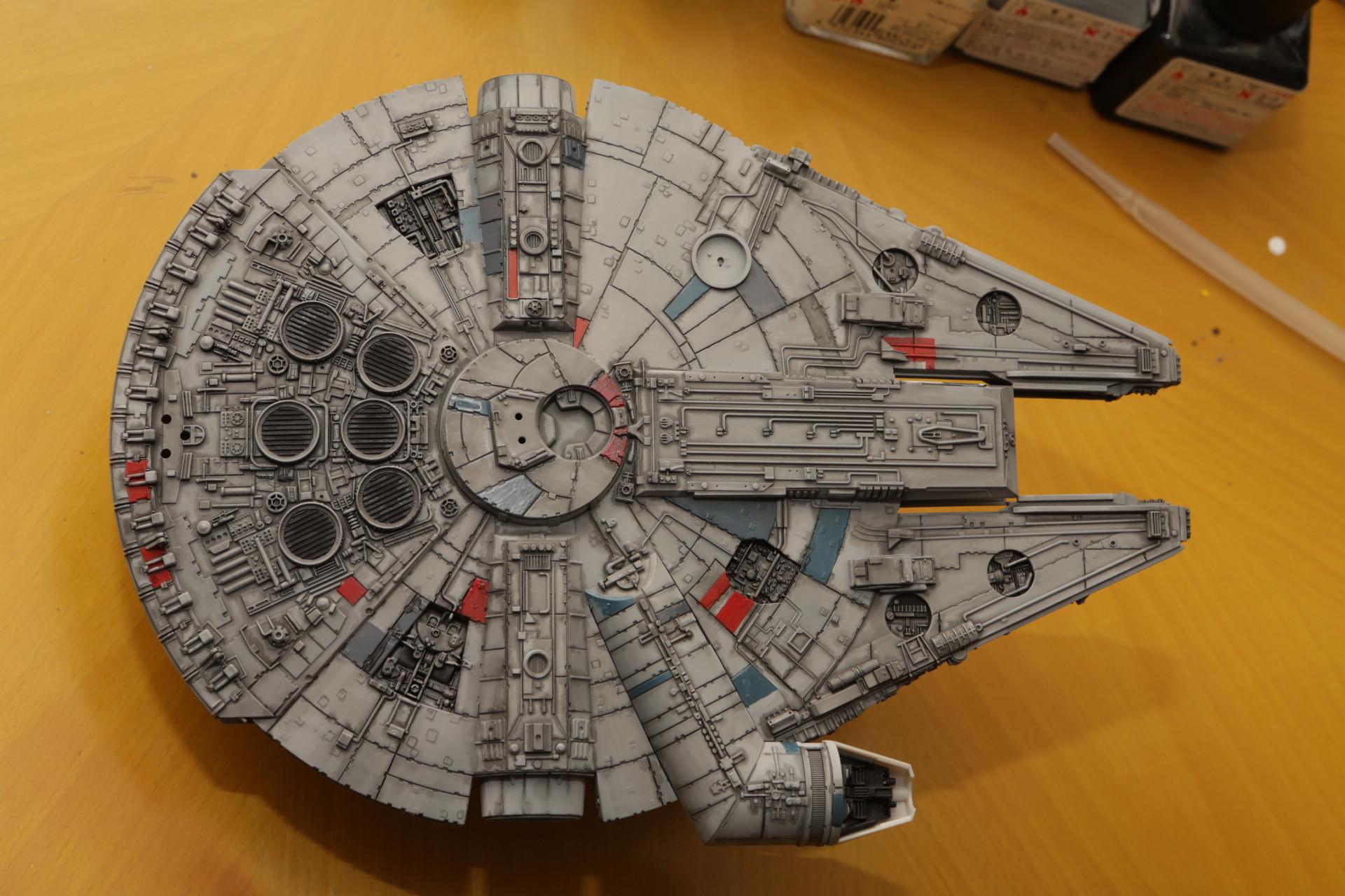 Star Wars Finemolds 1 144 Millennium Falcon Modeled By Royfocker22 Photoreview No 8 Wallpaper Size Images Gunjap