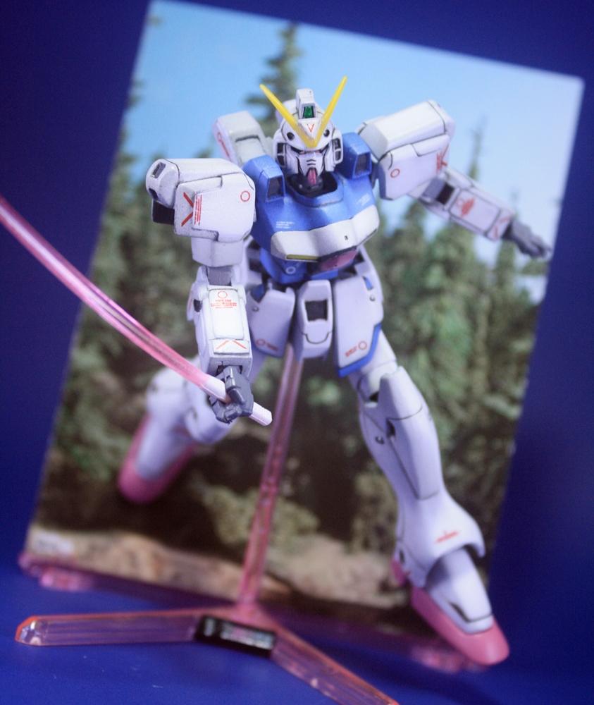 NG 1/144 Victory Gundam: Modeled By Miko Matsing