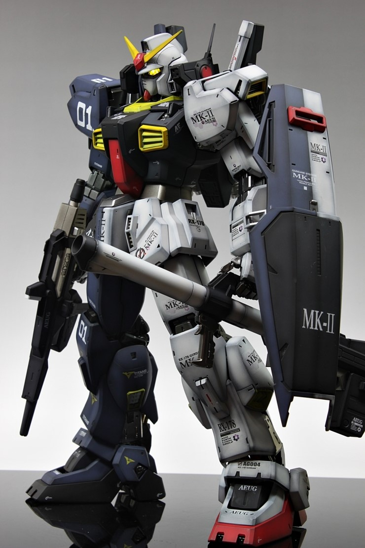 "PG 1/60 RX-178 Gundam Mk-II ""Two Faces"" Ver.Titans/A.E.U.G"