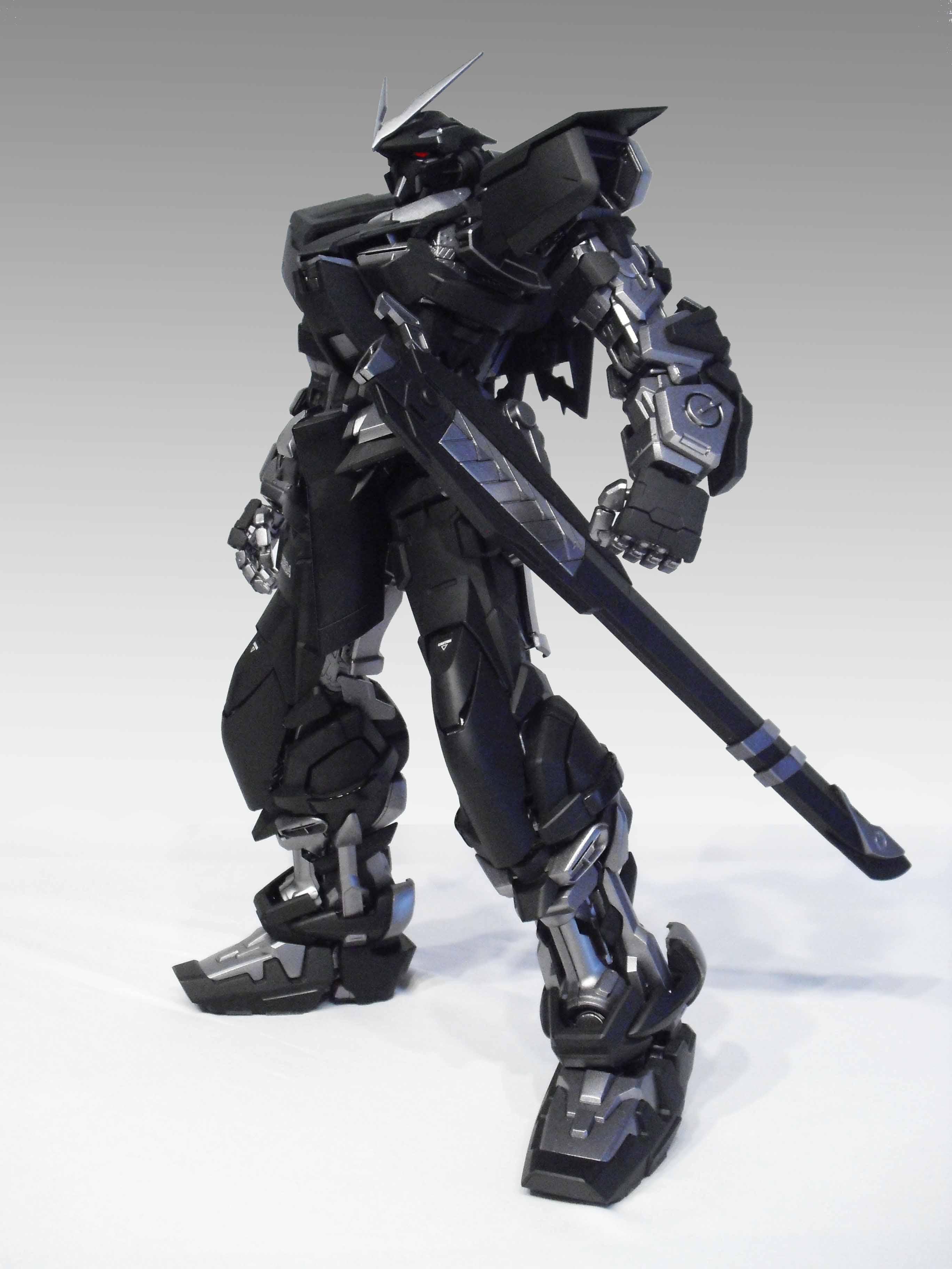 PG 1/60 Astray Gundam Ninja Custom Paint: Modeled by ...