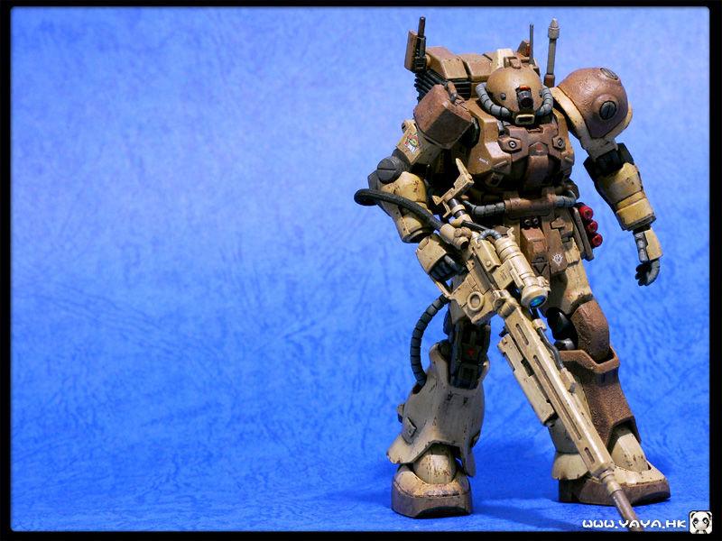 Yaya Strikes Back Amazing Ms 06l 2 Zaku Ii Sniper Type W