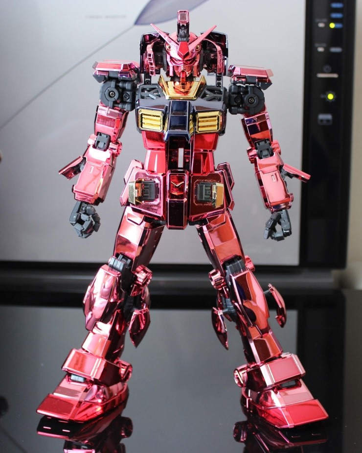 Pg 1 60 Rx 78 2 Gundam Casval Full Chrome Red Coated Full Photoreview See The Others