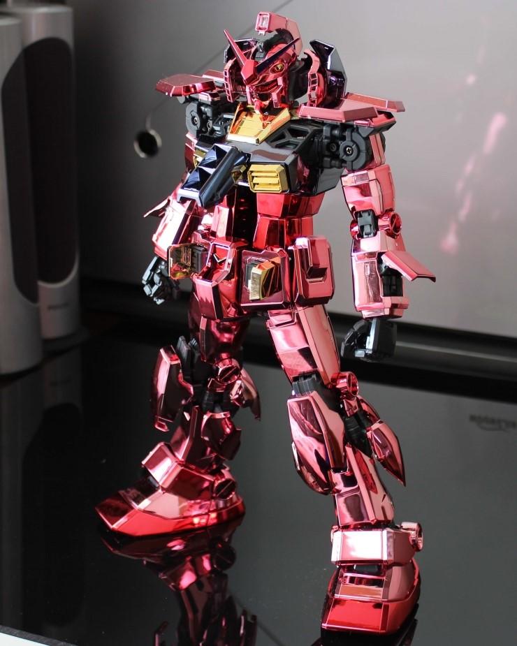Pg 1 60 Rx 78 2 Gundam Casval Full Chrome Red Coated Full