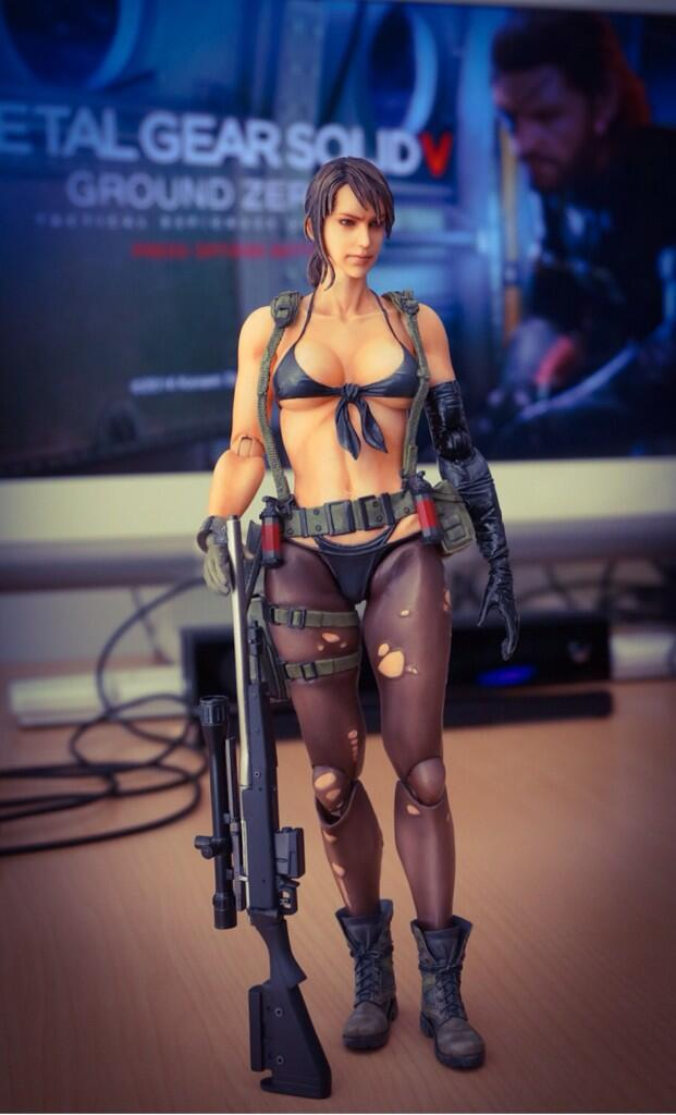 Metal Gear Solid V The Phantom Pain Quiet Preview