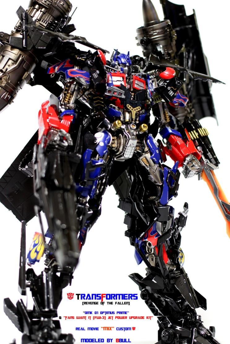 transformers  optimus prime power upgrade kit wleds modeled  bbull full photoreview