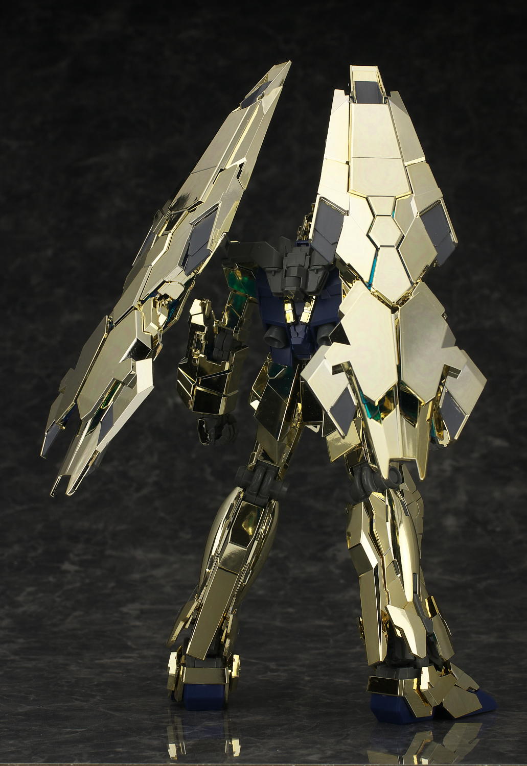 Build And Price >> Ultimate & Perfect Photoreview! MG 1/100 RX-0 Unicorn Gundam 03 Phenex. No.47 High Res. Images ...