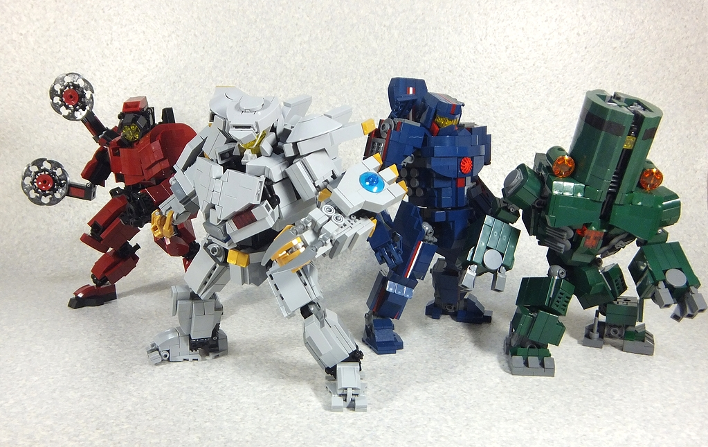 Pacific Rim Equipment >> When LEGO Meet Pacific Rim: Jaegers vs Kaijus. Full ...